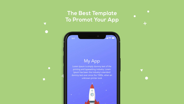 iOS Mobile App Video Promotion